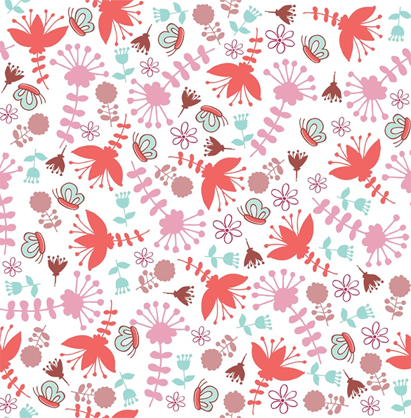 free awesome girly pattern download