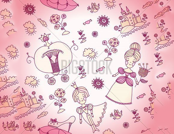 excellent free girly pattern download