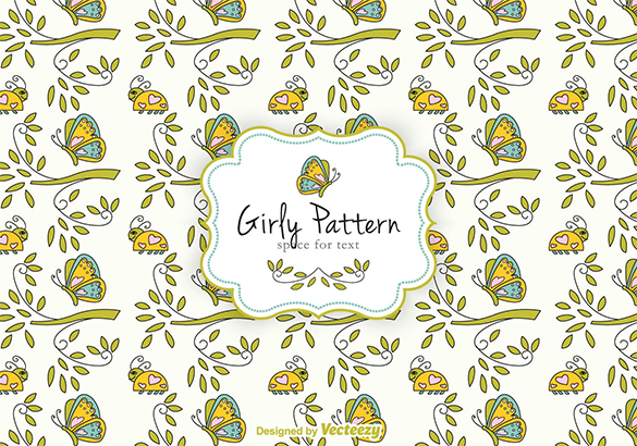 fabulous girly pattern for you