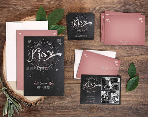 valentines day holiday card template download
