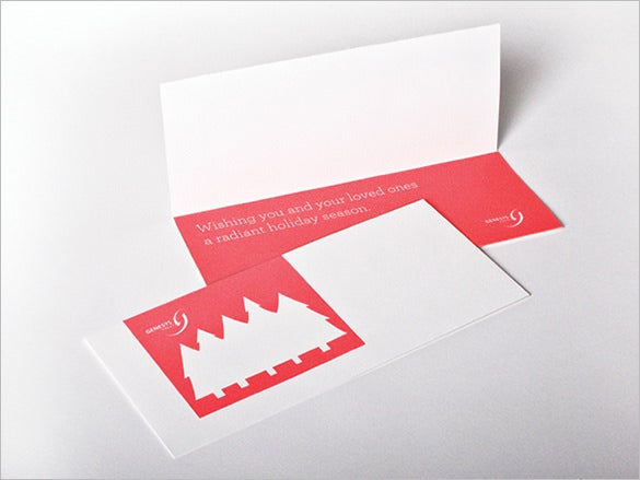 fabulous holiday card template download