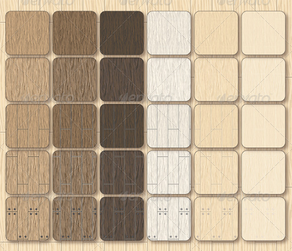 30 premium vector wood patterns