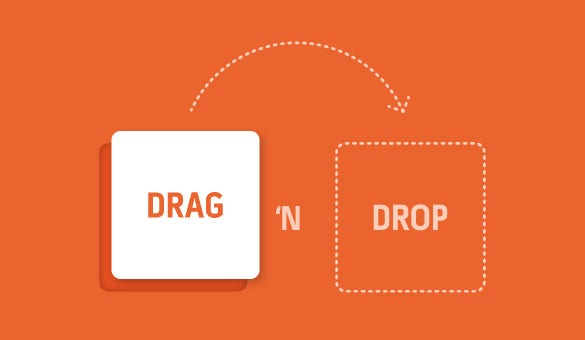 Drag-and-Drop-Functions