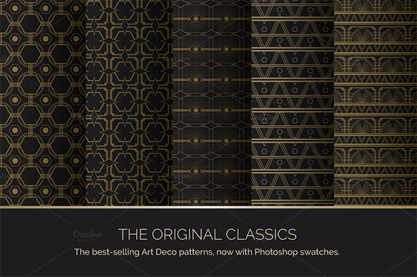 abstract premium art deco pattern for you