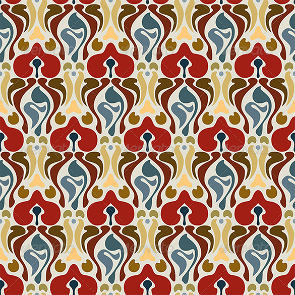 beautiful art deco pattern premium download