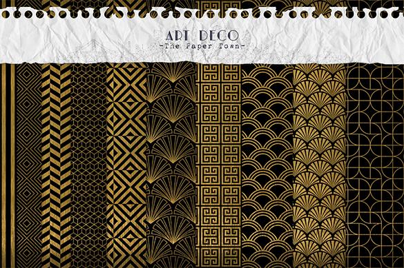 elegant premium art deco pattern