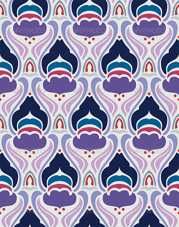 seamless premium art deco pattern download