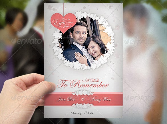 photoshop card template for wedding