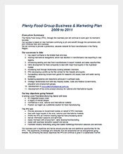 Food-Marketing-Business-Plan-Template