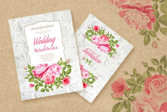 Wedding Place Card Templates PSD AI Free Premium Templates - Wedding invitation templates: wedding place card size