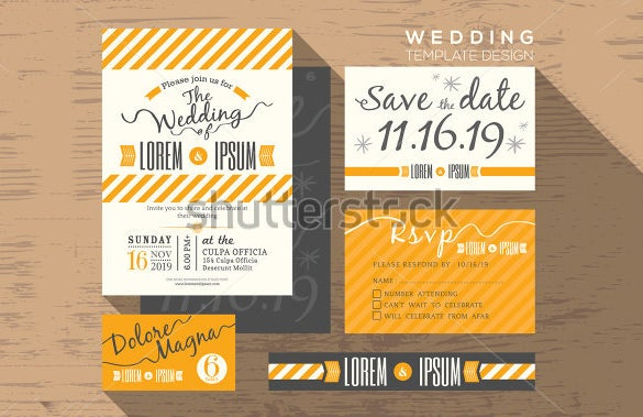 example of wedding place card template