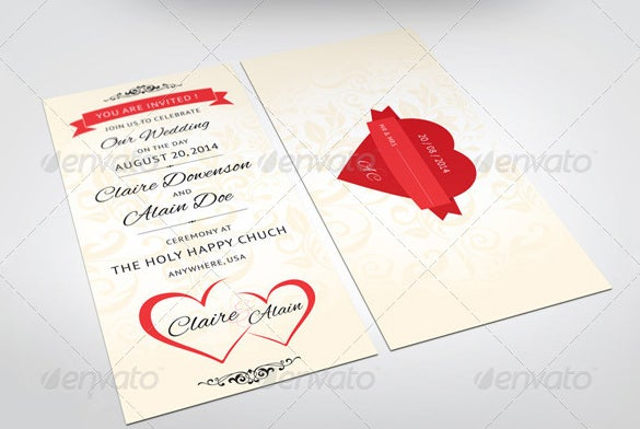 indesign wedding place card template