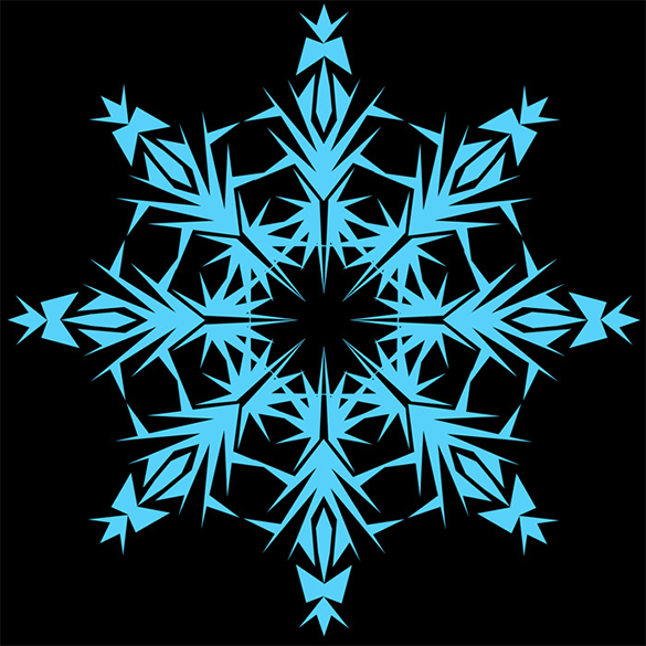 61 snowflake brushes premium download