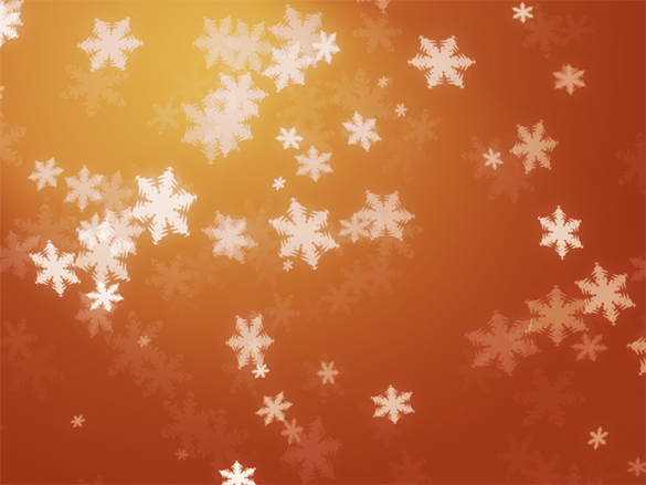 10 fantastic premium snowflake photoshop brushes