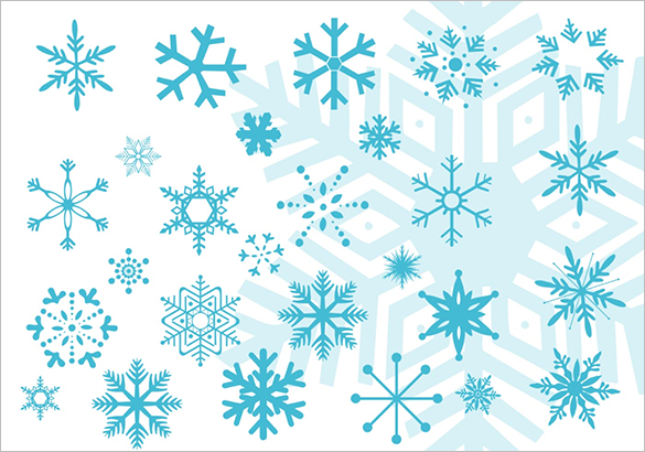 30 flawless free snowflake brushes for photoshop