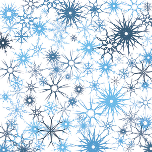 12 premium snowflake brushes download
