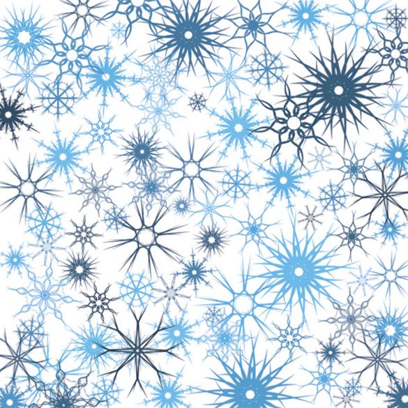 12 premium snowflake brushes download