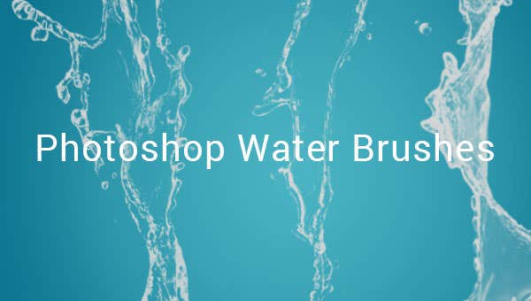 390 Photoshop Water Brushes Free Abr Psd Eps Format