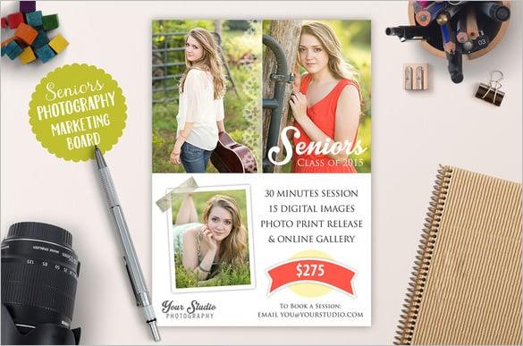 graduation card psd template download