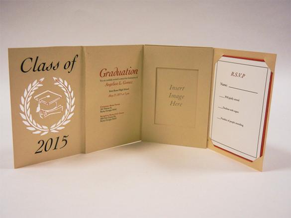 amazing graduation crad template download