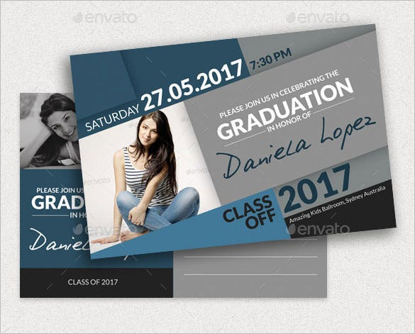 Graduation card template 23 free printable sample example format download free for Graduation templates photoshop