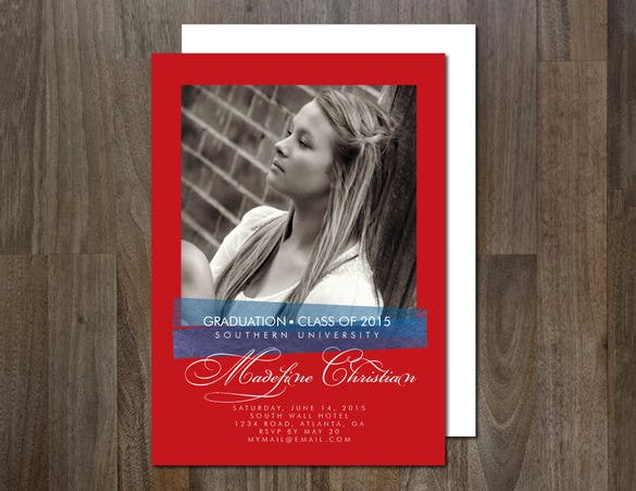 2015 graduation card template download