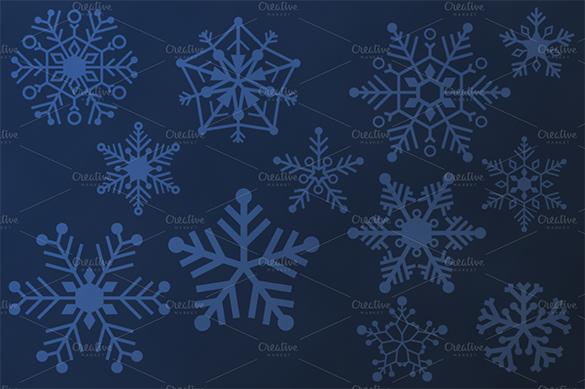 20 awesome snowflake brushes premium download