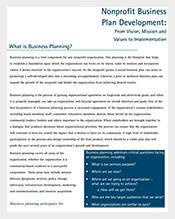 Nonprofit-Business-Plan-Development-Template
