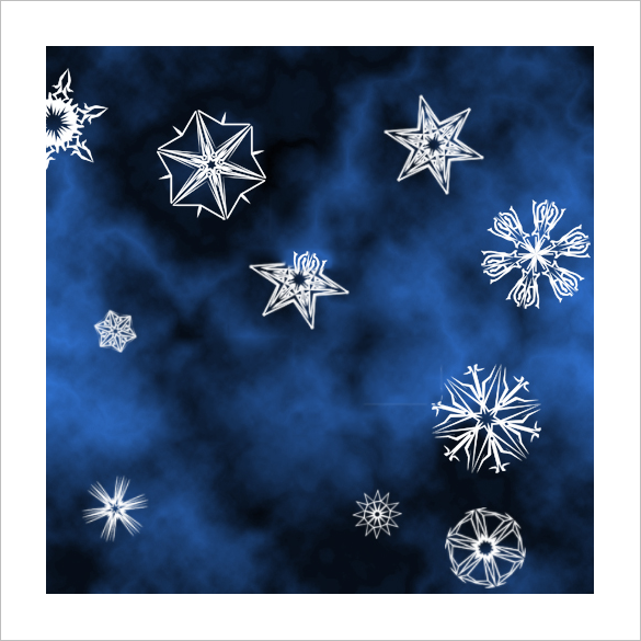50 free fantastic snowflake brushes for you