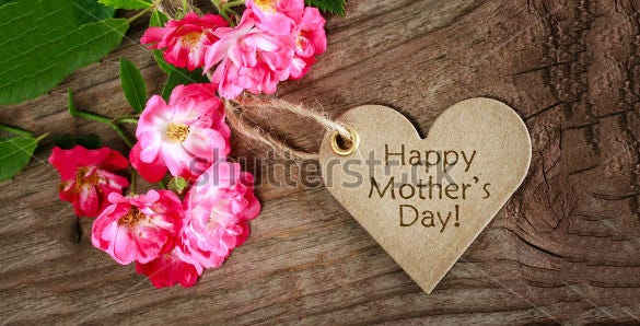 sample template for mothers day