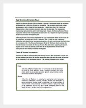 Housing-Business-Plan-Template