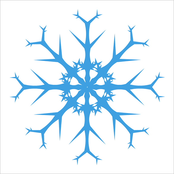 24 extravagant premium snowflake brushes for you