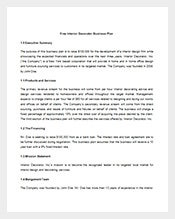 Business Plan Template 291 Free Sample Example Format