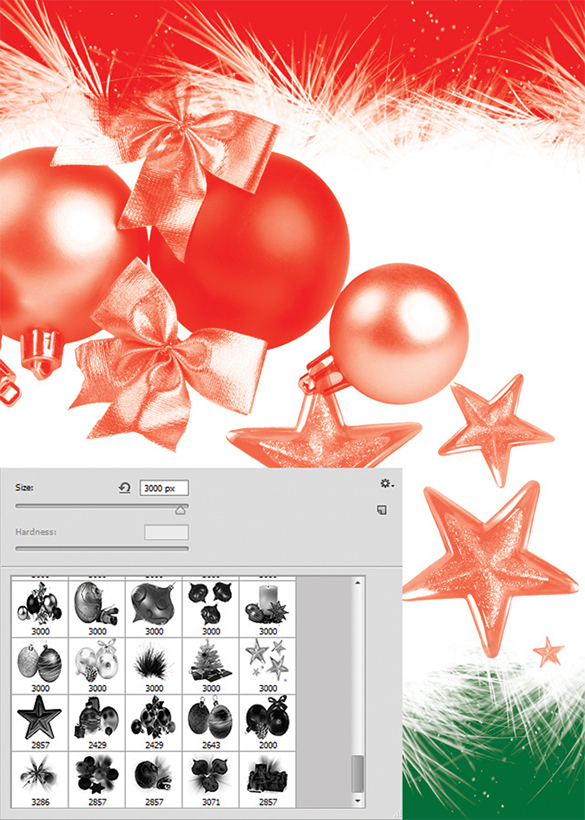 29 mindblowing christmas decoration photoshop brushes