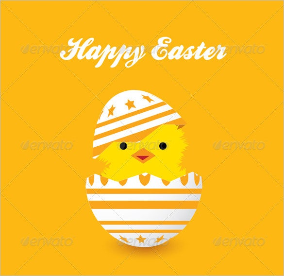 vector eps easter card template downlaod