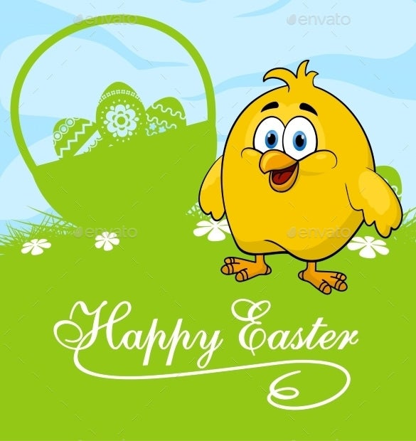 vector eps format easter card template download