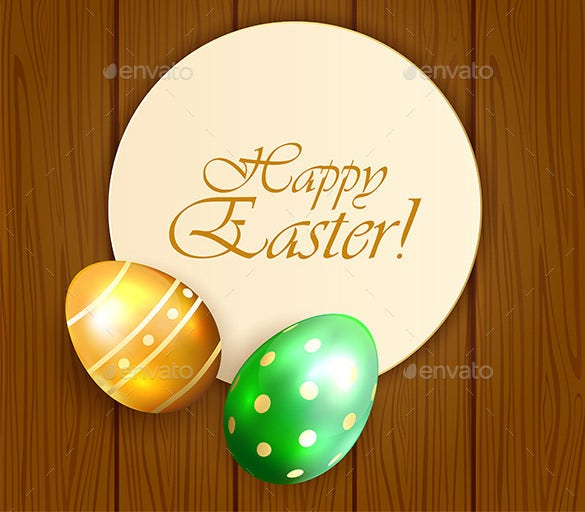easter card templates with eggs downlaod