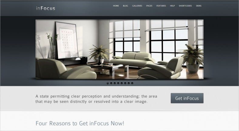 infocus powerful professional wordpress theme 788x432