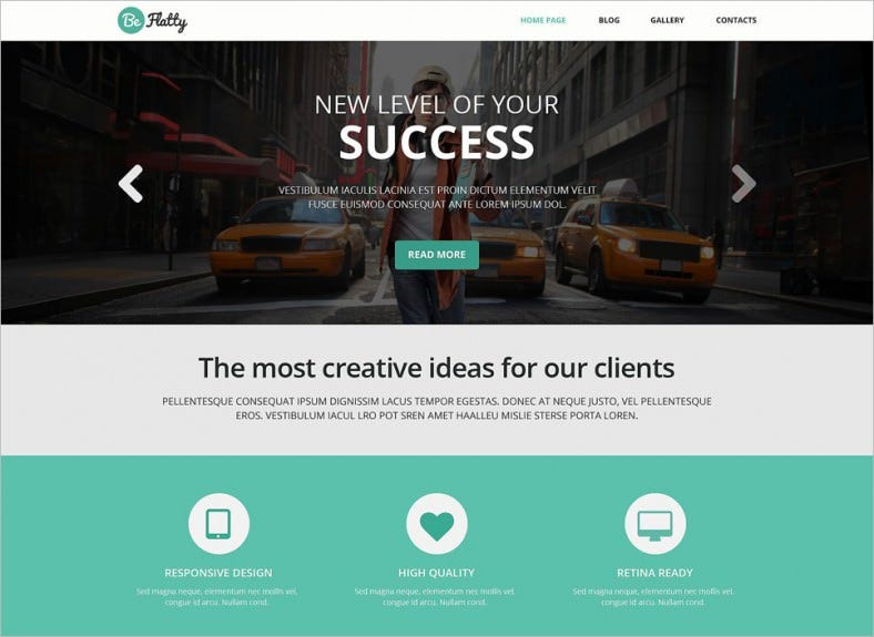 creative project wordpress theme 788x575