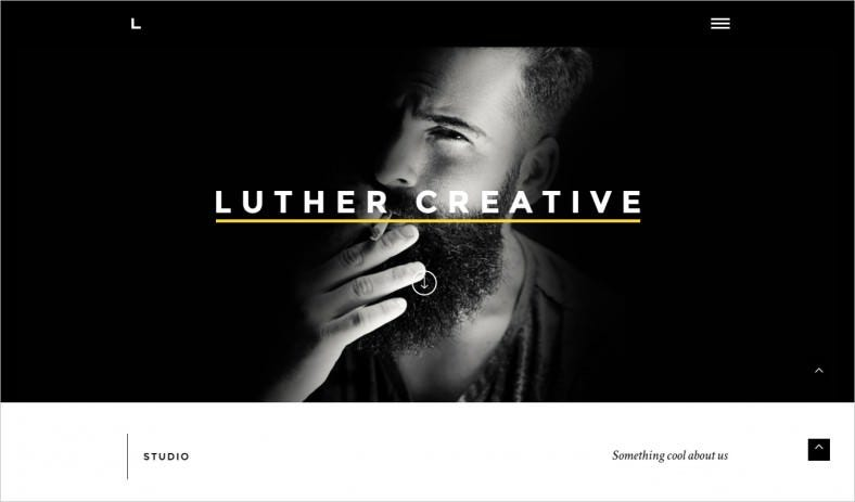 luther creative wordpress theme 788x463