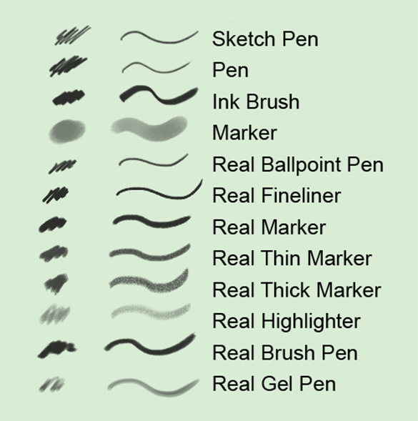 12 abstract pencil photoshop brushes free download