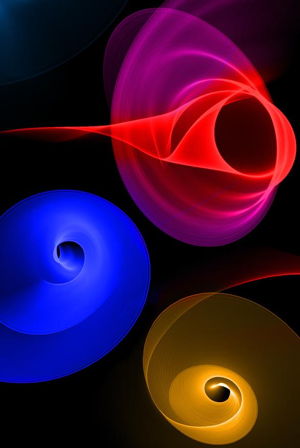 25 premium fractal swirl photoshop brushes