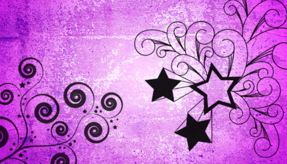free star swirls photoshop brushes download