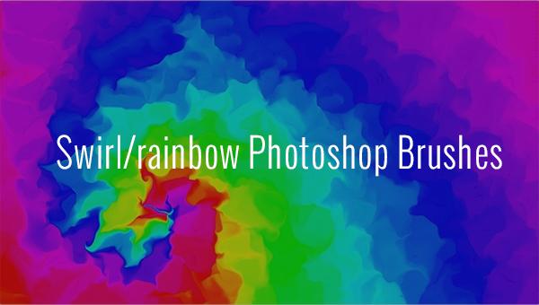 103+ Swirl/Rainbow Photoshop Brushes - Free Vector EPS, ABR