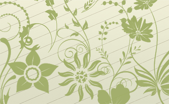 30 floral photoshop brushes free download