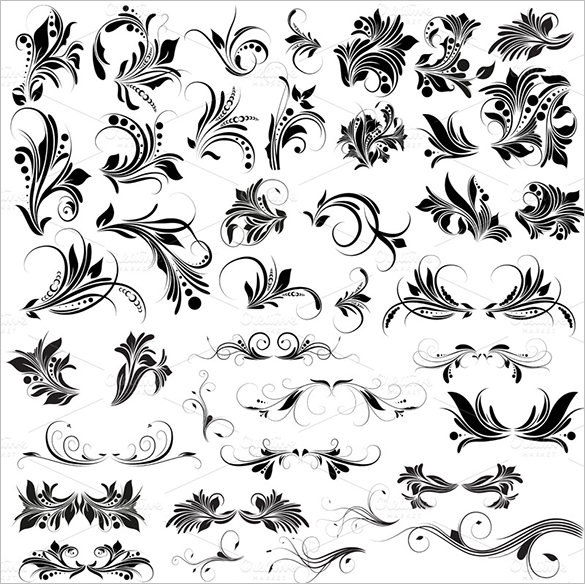 615+ Floral Photoshop Brushes - Free Vector EPS, ABR, AI Format
