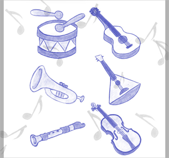 94 music photoshop brushes for download