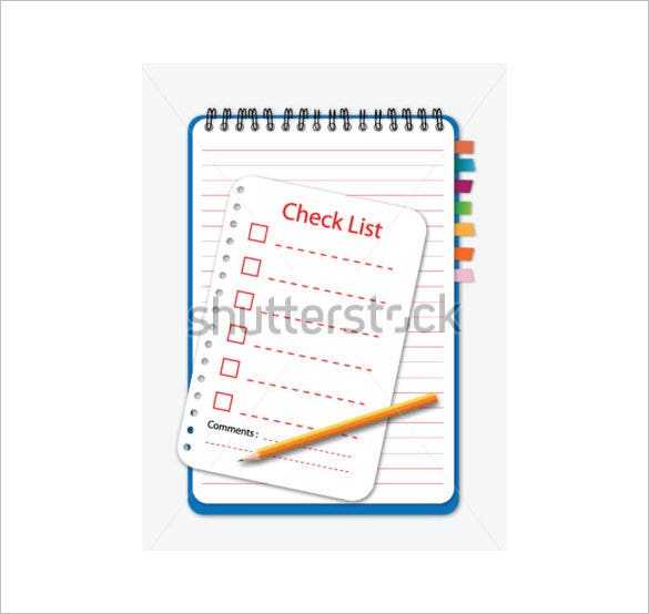 checklist comment card template