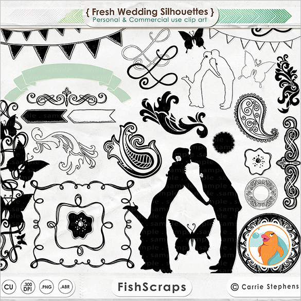 fantastic premium wedding photoshop brushes