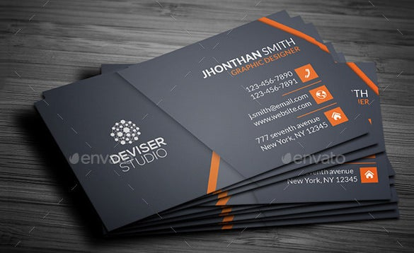 Contact Card Template – 20+ Free Printable Sample, Example, Format ...